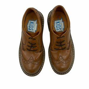 FLORSHEIM KIDS Slip-on Wingtip Leather Oxfords
